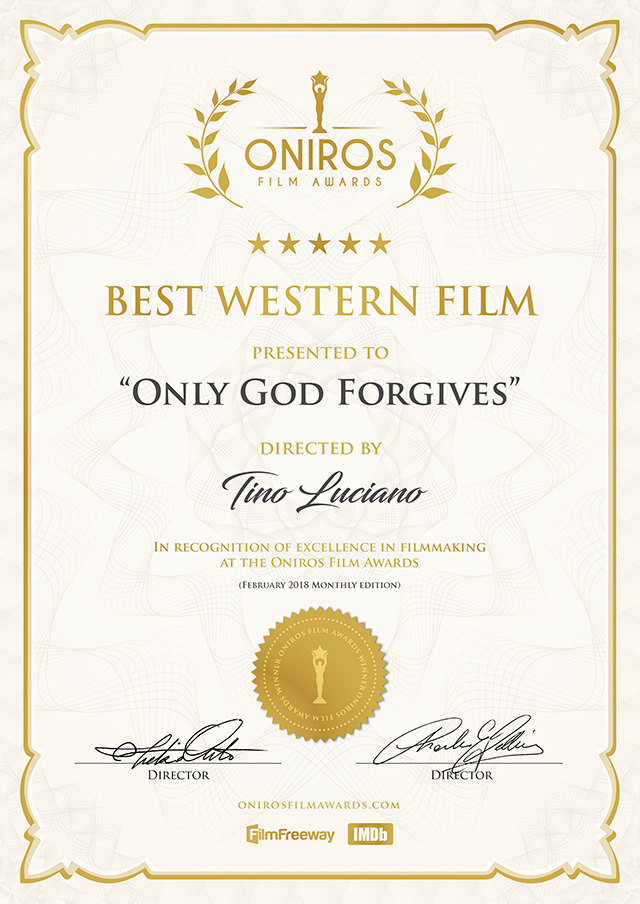 Only God Forgives Laurels