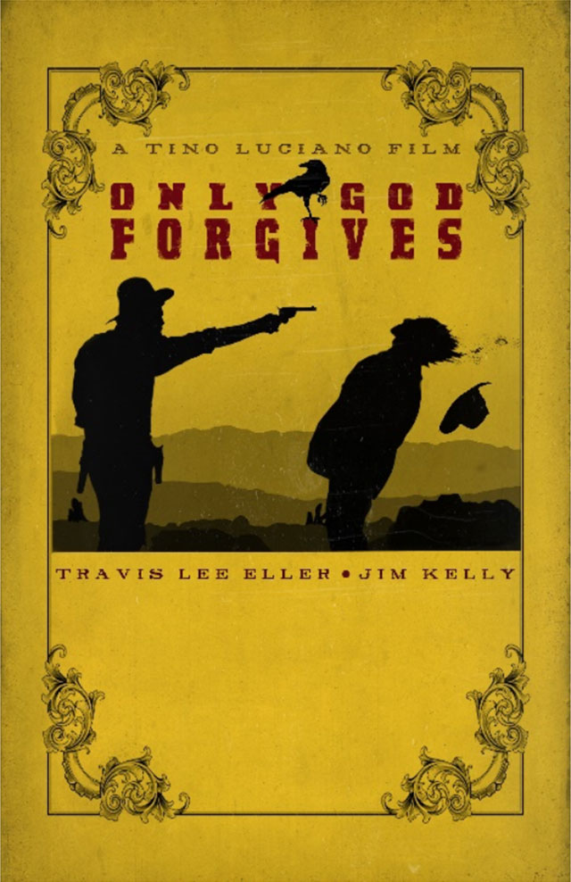 Only God Forgives Yellow Poster